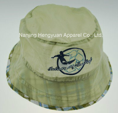 Breathability Summer Bucket Hat with Printed Pattern (HY061517) pictures & photos