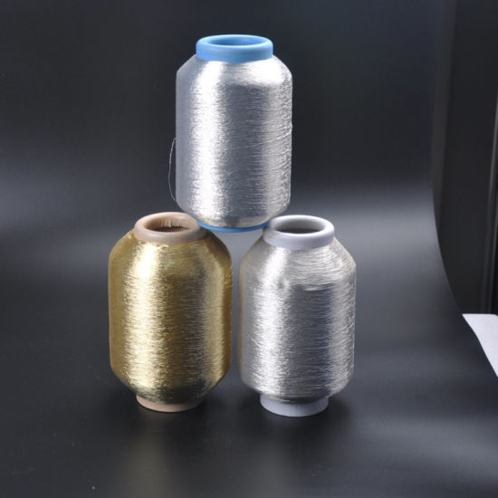 Export to 70 Countries Top Quality Metallic Yarn pictures & photos