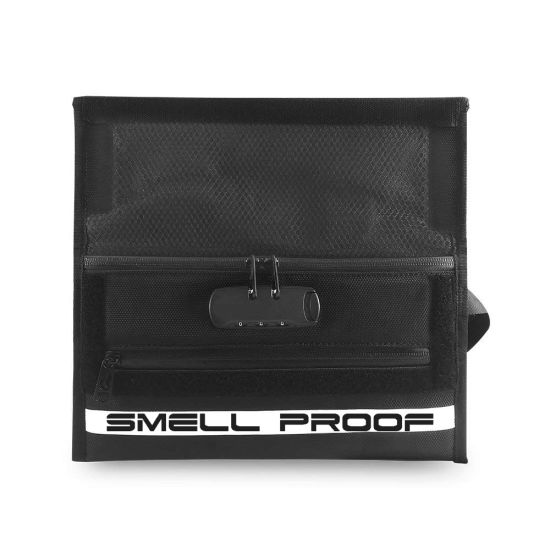 China Activated Carbon Lined Smell Proof Bag with Combo Lock