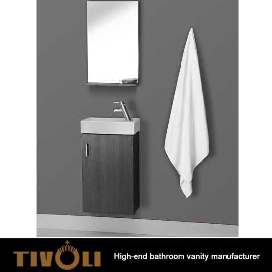 China Modern Wall Mounted Bathroom Vanity Single Sink Bathroom