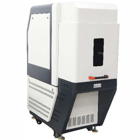 Factory Supply Optical Fiber Laser Marker Enclosed Machine Case