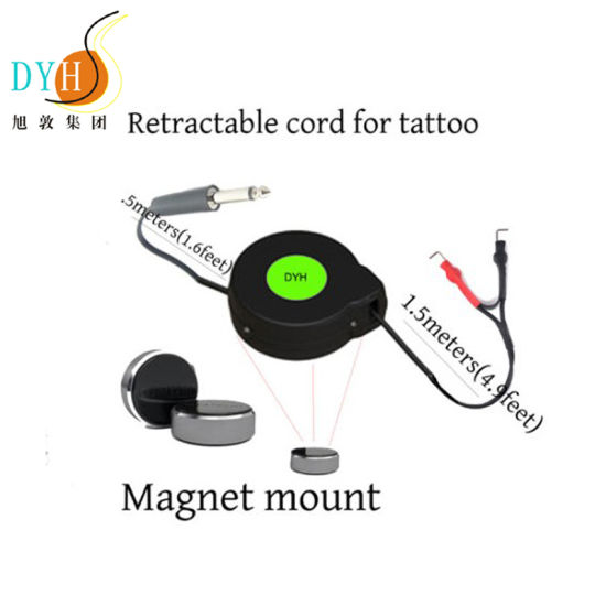 220 V Power Cable Tangle Free Cord Retractor for Tattoo pictures & photos