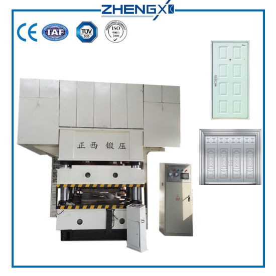 Zhengxi Made 3000t Double Action Steel Door Embossing Hydraulic Press Machine pictures & photos