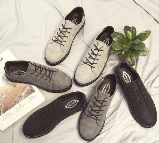 b64f814bbd93 Hot Sale Leather Lace up Dress Shoes Wholesale Fashion Men Shoes Newest Men′s  Footwear