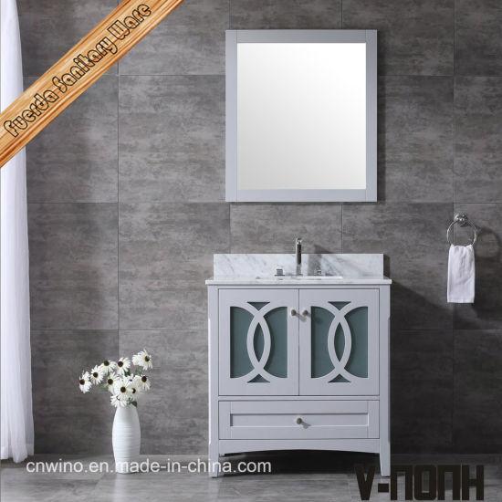 Beautiful American Style Solid Wood Bathroom Vanity Storage Units China All In One Bathroom Vanity Buy Bathroom Cabinets Made In China Com