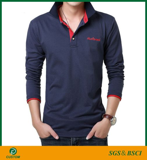 Mens Engineer Embroidery Polo Shirts Men Tee