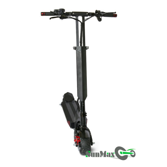 50-60km Double Motor Double Charge Interface Folding Electric Scooter pictures & photos
