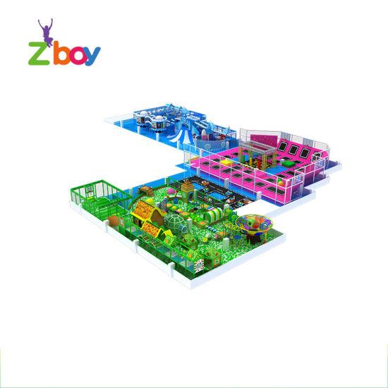 Kids Adult Indoor Playground Free Custom Design Trampoline Playground Park
