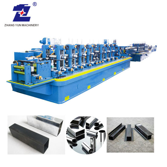 Metal Steel High Frequency Auto Cold Roll/Rolling/Rolled Forming Machine Tile Tube Round Rectangle Square Pipe Making Welding Mill Machinery