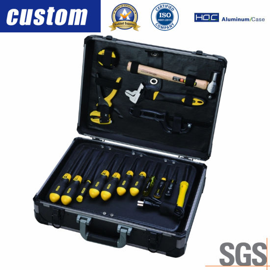 33e53f345e9 China High Quality Aluminum Guitar Alloy Trolley Tool Case with ...