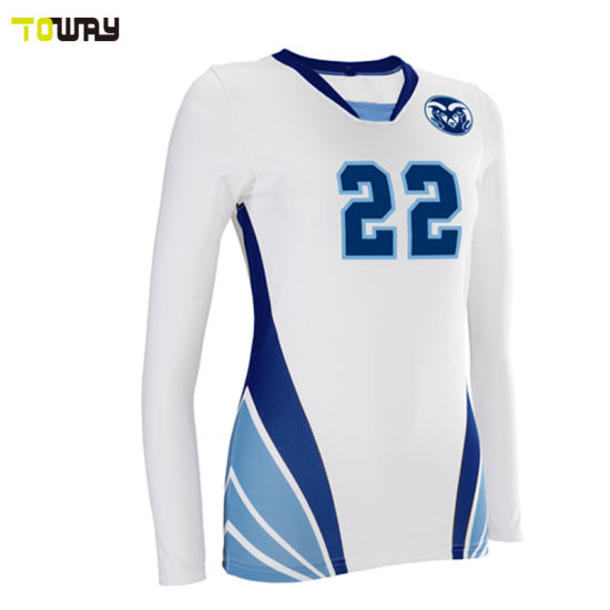 China Custom Design Women Volleyball Uniforms Sublimated - China ... 09da20bc3546c
