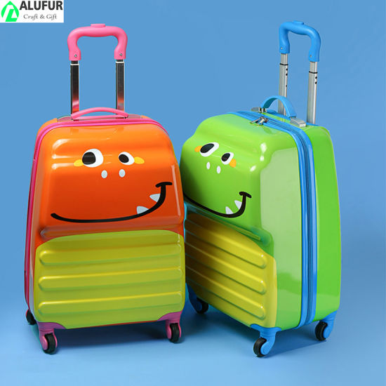 18'' Kids Dinosaur Luggage Hard Shell Travel Carry on Suitcase for Kids