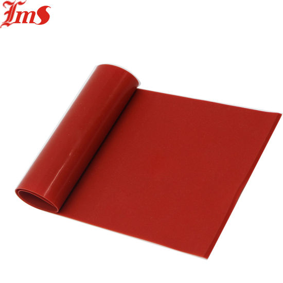 Heat Pressed Silicon Rubber Sheet High Quality Film Prevent Electrostatic Isolation Protection Role.