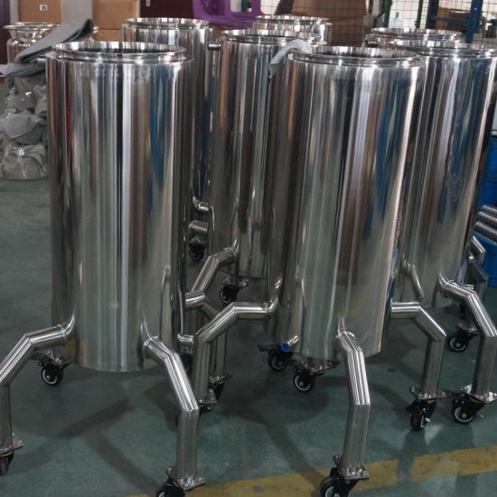 Stainless Steel Refrigerant Recovery Tank for Extractor
