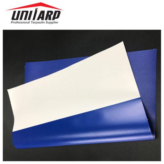 1000d 9*9 PVC Tarpaulin Striped Awning Fabric