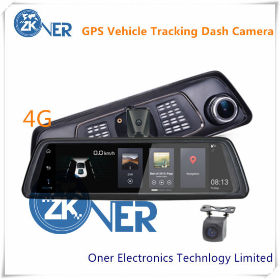 4G GPS Dash Camera Dual Dash Cam with Built-in Wi-Fi GPS pictures & photos