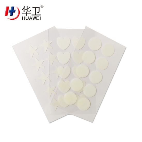 Sterile Hydro-Colloid Acne Patch Pimple Patch Waterproof for Reducing Redness & Inflammation