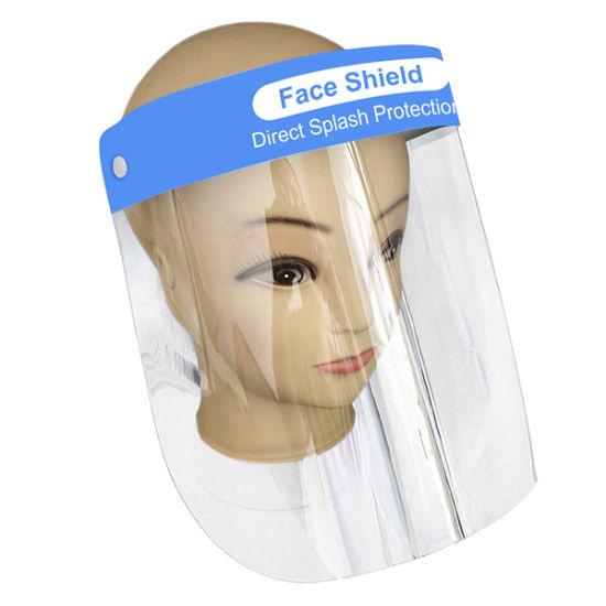 Plastic Face Shield Anti Splash Protection Clear Protector Anti-Splash