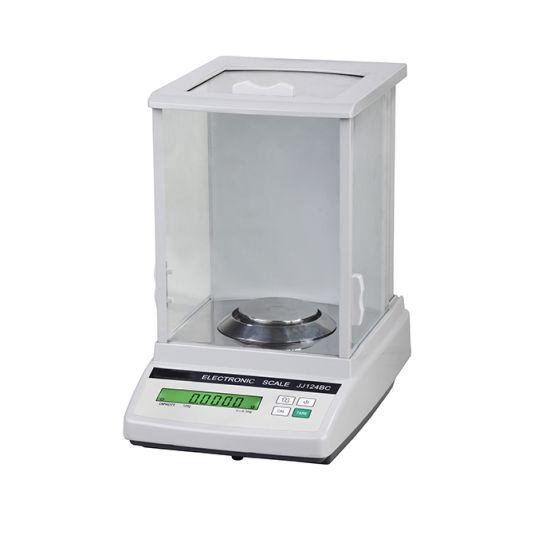Laboratory High Precision Electronic Analytical Balance Jj324bc