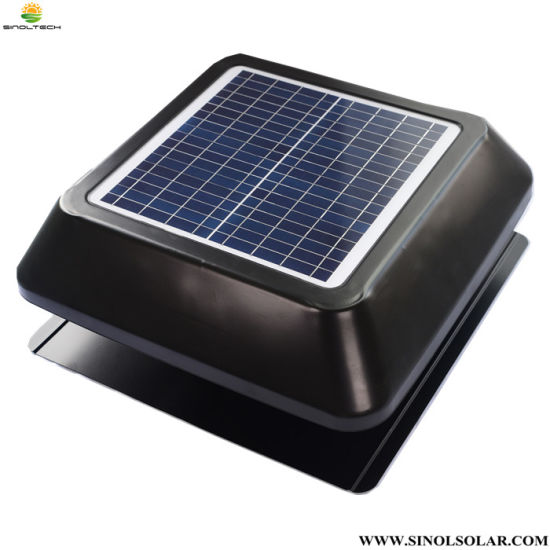 15W 12 Inch Solar Powered Attic Ventilation Fan PV Fixed (SN2013004R) pictures & photos