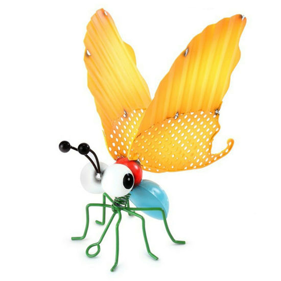 Metal Insects Bugs Ant Butterfly Grasshopper Bee Summer Garden Home Decor New
