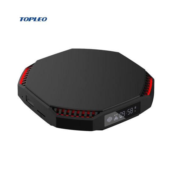 RAM 4GB 6GB 8GB T95 Plus Topleo TV Top Box with SIM Card USB 3.0 Streaming Firmware Download Android TV Box 4K
