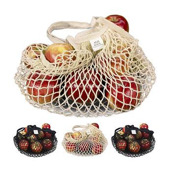 Supermarket Woven Shopping Cotton Mesh Bags Hand Fruit Net Bag Environmental Friendly Folding Net Bag