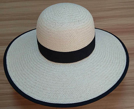Fashion Women Round Wire Papyrus Hand-Weaved Hat pictures & photos