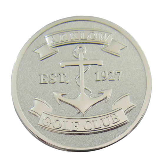 Gold Challenge/Police/ Gift/City Precinct Coins ODM & Promotional Silver Hollow out Award Coin (182)