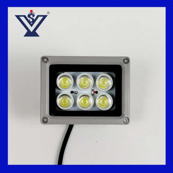 Outdoor IP65 Waterproof SMD Monitoring CCTV Camera 100W 200W Solar LED Flood Light (SYSG-191130)