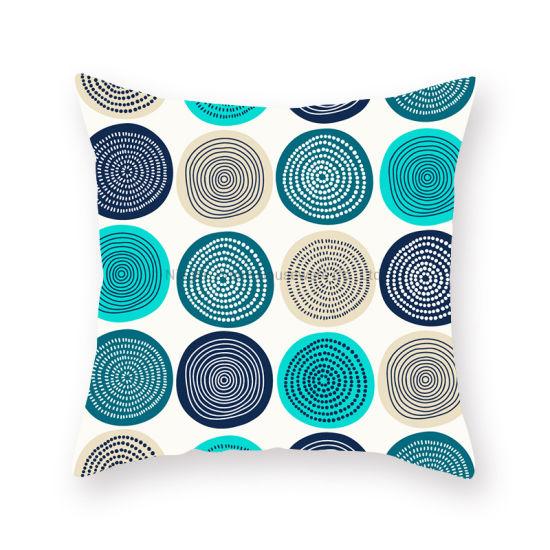 Wholesale Latest Design Cushion Cover Decorative Pillow Custom 3D Digital Printing Pillow Case/Cushion Cover