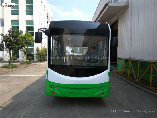 20 Seats Ce Approved High Quality Electric Sightseeing/Tourist/School Car/Bus at Good Price pictures & photos
