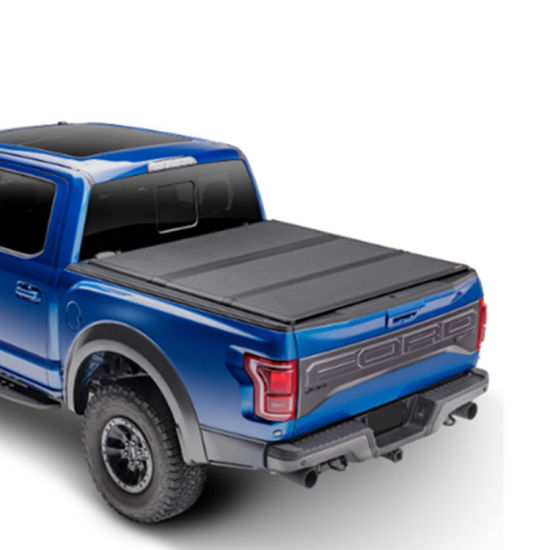 China Hard Tri Fold Tonneau Cover Pickup Truck Bed Covers Fit For Ford F150 5 5ft China Pickup Cover Car Cover