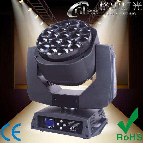 19*15W Osram 4in1 LED Zoom Wash Moving Head Light