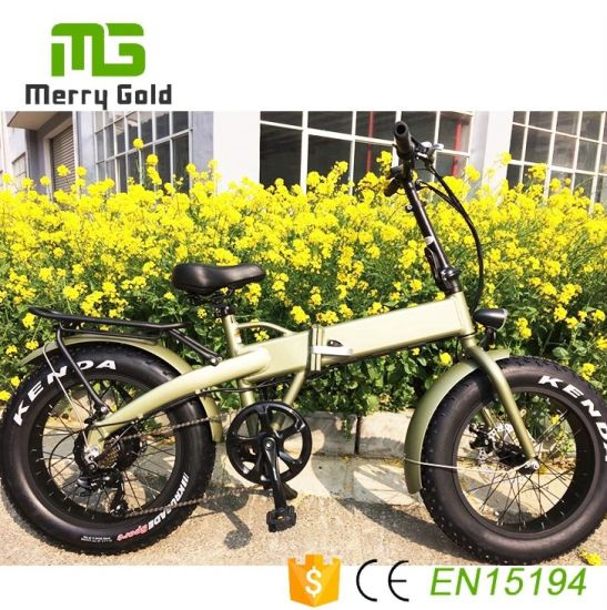 Hot Selling 20 Inch Fat Tire Foldable Electric City Bike for Wholesale