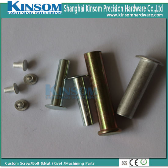 Short Aluminum Semi Hollow Rivets with Mushroom Head pictures & photos