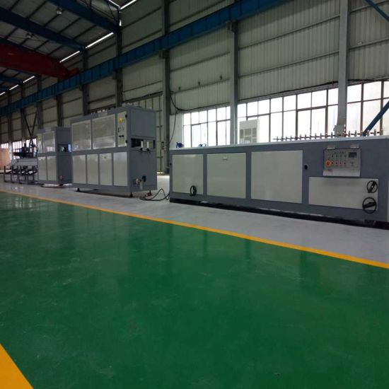 Plastic Extruder- Wood (WPC) PE/PVC Window Profile/Ceiling/Board/Wall Panel/Edge Banding/Sheet/ Pipe Extrusion (extruding) Making Machine