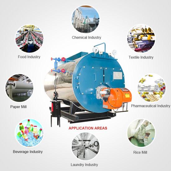 Hih-Tech Induatrial Gas Oil Fired Steam Boiler for India Pakistan  Bangladesh Sri Lanka Country