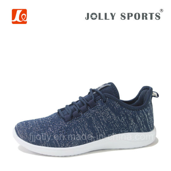 Flyknit Sport Shoes Breathable Footwear for Men Women pictures & photos