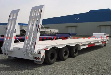 60 Tons Truck Semi-Trailer Load Transportation with Good Quality Axle and Suspension Trailer