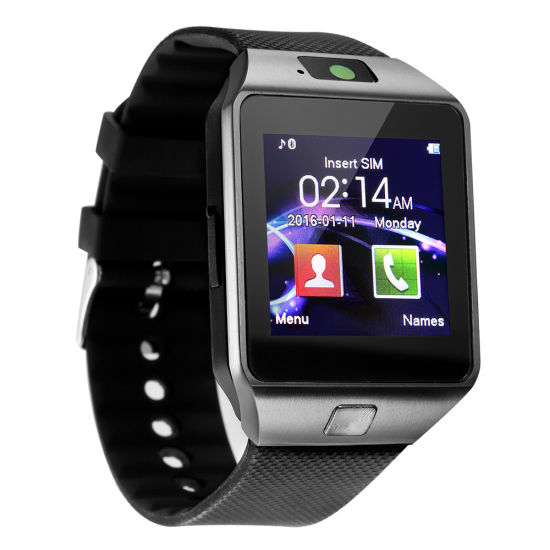 Wholesale Dz09 Unisex Smart Watch Android SIM Card Mobile Phone pictures & photos