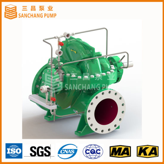Corrosion-Resistant Duplex Stainless Steel Double Suction Centrifugal Pump for Sea Water