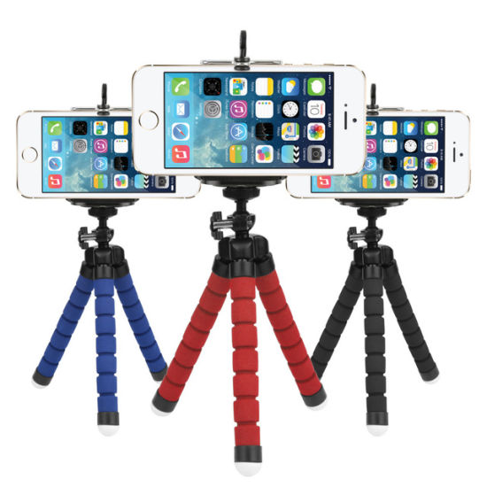 Mini Flexible Sponge Octopus Tripod for Smart Phone pictures & photos