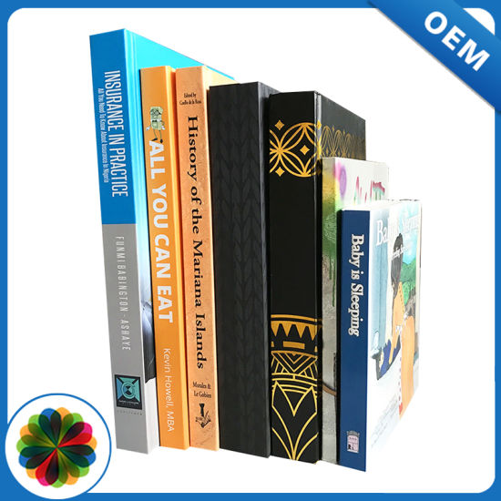 Top quality full color casebound book printing