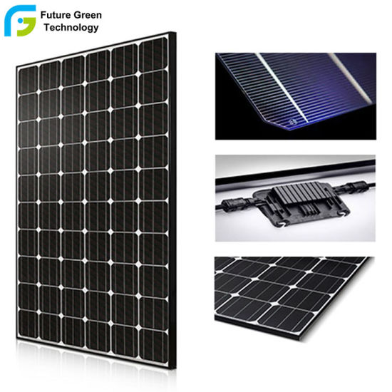 250W 280W 300W Monocrystalline Solar PV Panels for Residential Installation