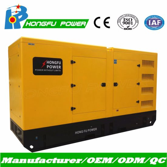 85kVA 95kVA Cummins Power Generating Set with Chinese Brushless Alternator