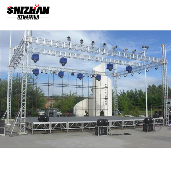 Aluminum Lighting Stage Truss Used for Concert