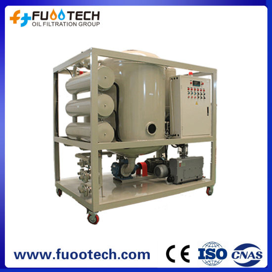 Fuootech Series Zyd Double-Stage High Vacuum Transformer Oil Filtration Machine