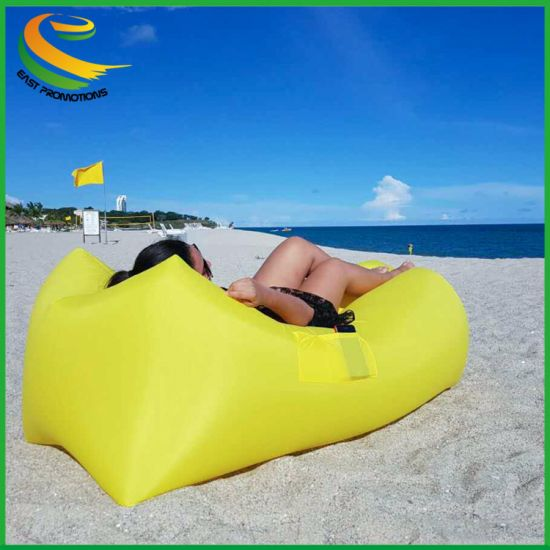 Inflatable Outdoor Portable Lounger Air Lazy Sleeping Sofa Bed
