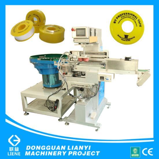 China Teflon Seal Tape Automatic One Color Pad Printer